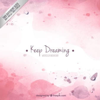 Keep dreaming background