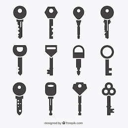 Key icons collection