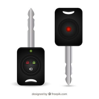 Keys with remote control