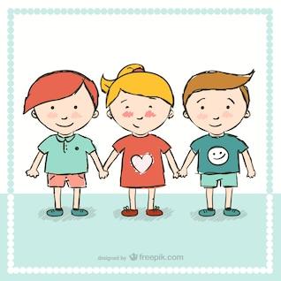 Kindergarten cartoon vector