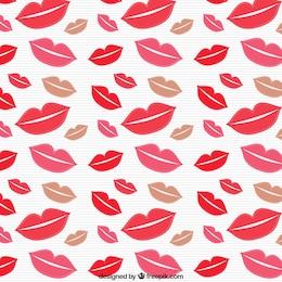 Kisses pattern