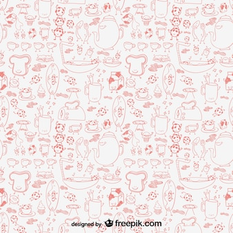 Kitchen graphics pattern