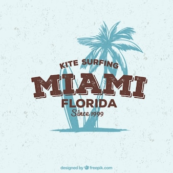 Kite surfing poster