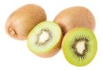 Kiwis and a sliced kiwi
