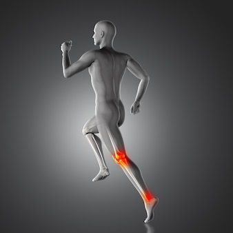 Knee pain and achilles heel