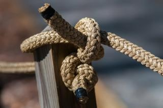 knot  rope