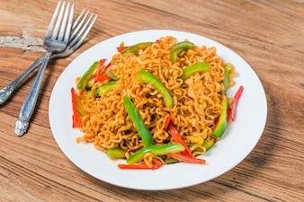 Korean instant noodles Spicy instant noodles