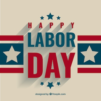 Labor day greeting background