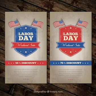 Labor day posters