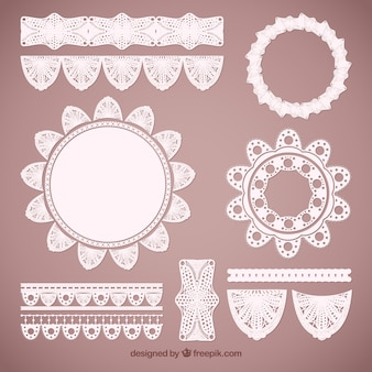 Lacy decoration