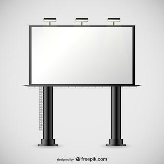 Large billboard vector