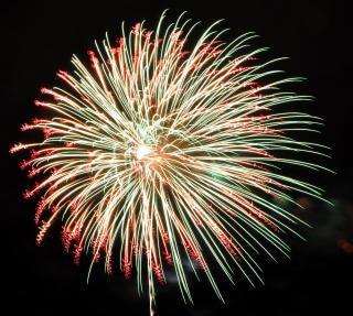 Large fireworks, fireworks
