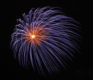 Large fireworks, fourthofjuly, newyears