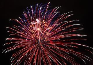 Large fireworks, fourthofjuly