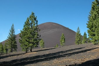 Lassen park california volcanic cone national cinder