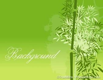 緑の背景の葉