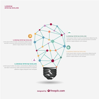 Light bulb template free download