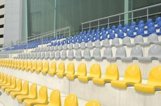 Line of chairs