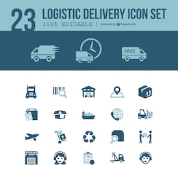 Logistic delivery free pack