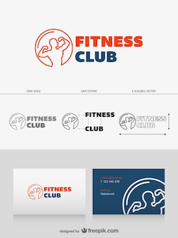 Logo design Fitness club