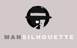 Logo Man Silhouette