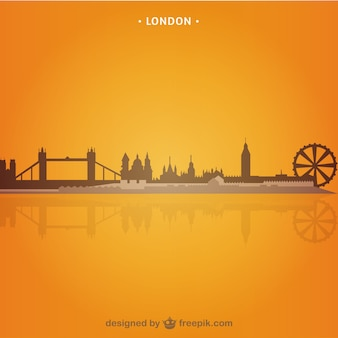 London England cityscape vector
