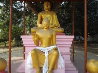 lord buddha  golden