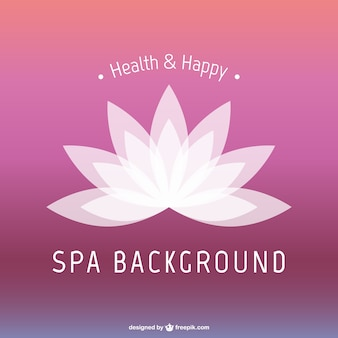 Lotus flower SPA background