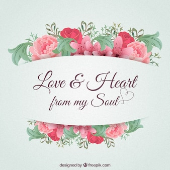 Love and heart from my soul