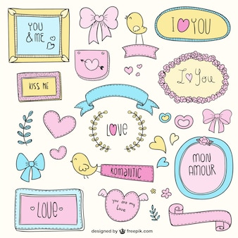 Love colorful doodles
