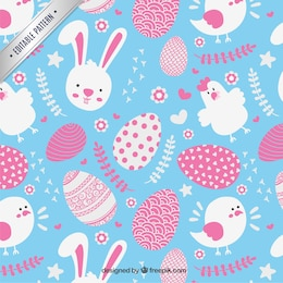 Lovely easter pattern