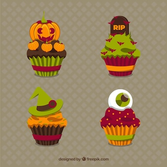 Lovely halloween cupcakes