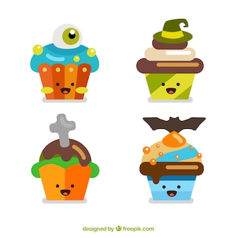 Lovely halloween cupcakes