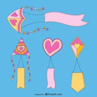 Lovely kites pack