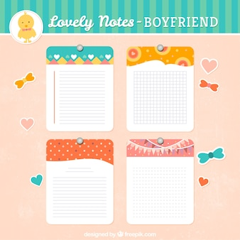 Lovely notes pack
