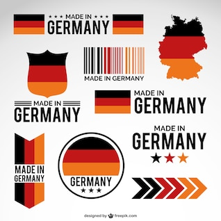 Made in Germany design elements