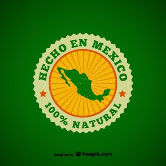 Made in Mexico badge