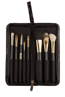 Makeup artist brush kit