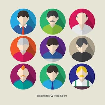 Male avatars