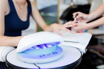 Manicure machine