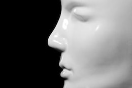 Mannequin Close-up, plastic