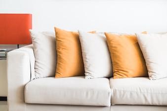 Many cushions