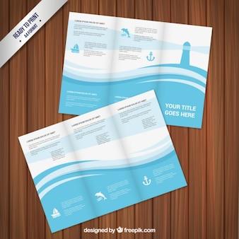 Marine brocohure design