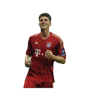 Mario Gmez , Bayern munich Bundesliga