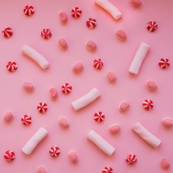 マシュマロ、キャンディー、お菓子