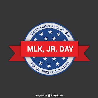 Martin Luther King day label