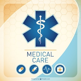 Medical background illustration