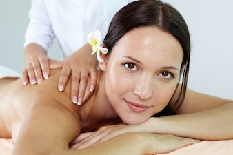 Medicine perfect massage relaxed treatment