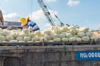 Mekong floating market