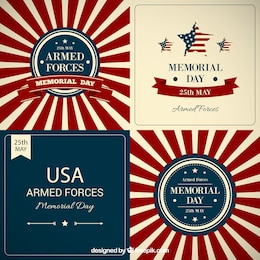 Memorial day background collection